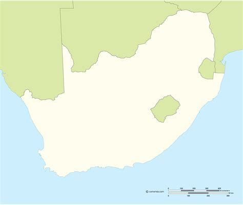 south africa vector map free vector map of south africa