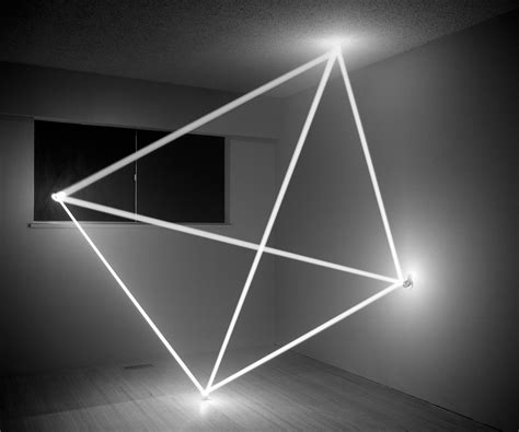 artistic lighting thought form tetrahedron james nizam