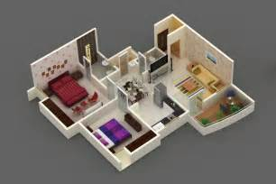 home design 3d 2bhk enclave by builders developers 1 2 bhk