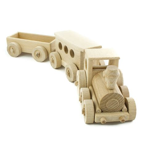 Handmade Wooden Trains - trains sets handmade wooden buy at