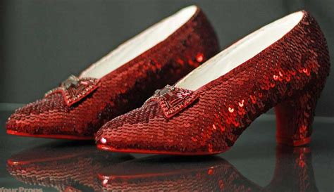 ruby slippers wizard of oz most expensive shoes in the world stuart weitzman