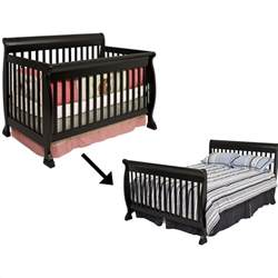 Crib Bed Rail Davinci Kalani 4 In 1 Convertible Wood Baby Crib With Toddler Rail In 168637