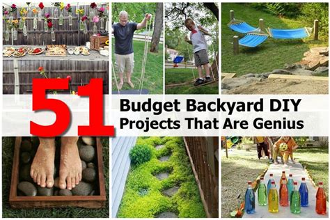 diy backyard projects 51 budget backyard diy projects that are genius