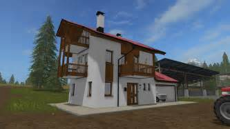 residential house with garages fs17 farming simulator 17