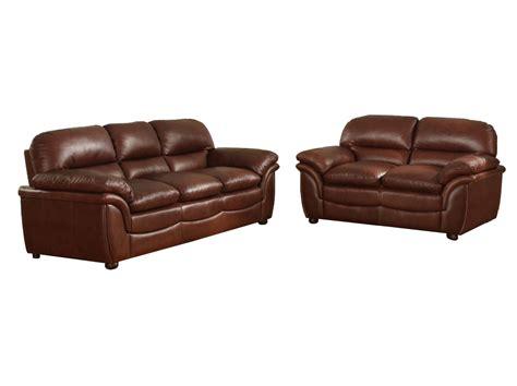 brown leather modern sofa baxton studio redding cognac brown leather modern sofa set