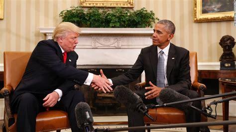 barack obama biography cnn obama welcomes trump to white house cnn video