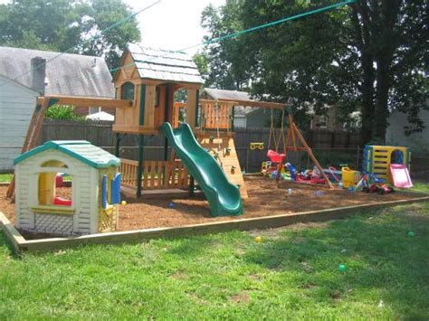 small backyard landscaping ideas for with playground