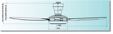 ceiling fan dimensions kdk r56sv ceiling fan w remote
