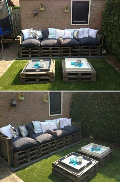 patio furniture made out of pallets crafty