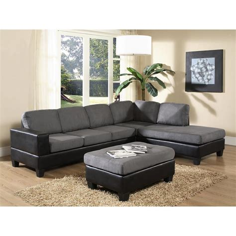 gray sectional home decorators collection mayfair 2 piece classic natural