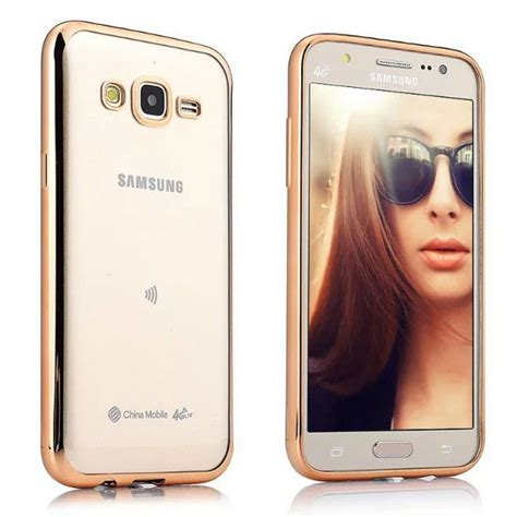 Silicon Samsung J2 2016 samsung galaxy j2 pro soft silicon cases mercator golden plain back covers at low