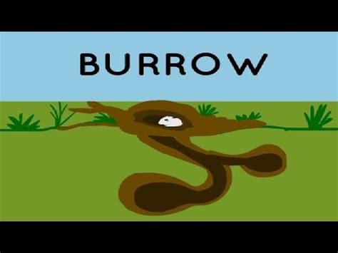 Burrow Clipart