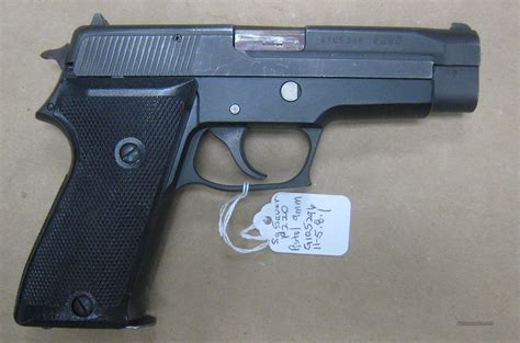 Swiss Army 1402 Black sig p220 swiss p75 9mm pistol for sale