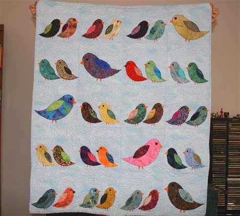 Quilt Patterns With Birds by 10 000 Birds Bird Quilt From The Baby Shower