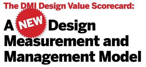 design management partnership design management institute on the value of design in