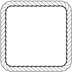 Nautical rope page border nautical rope border clipart clipart kid