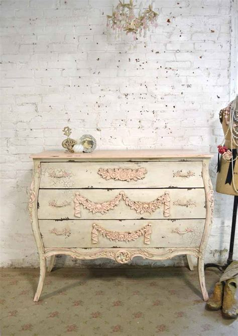 Shabby Chic Painted Dressers by Painted Cottage Chic Shabby Bombay Dresser