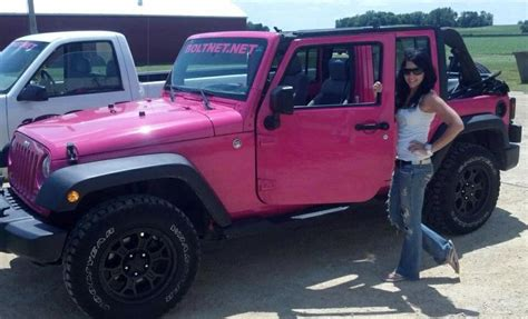 Pink Jeep Pink Jeep My Pink Jeep Pink Jeeps And