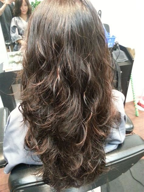 body wave perm on medium hair spiral perm before and after bing images hair