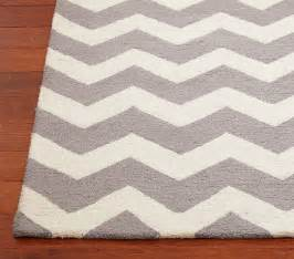 chevron wool rug contemporary rugs by pottery