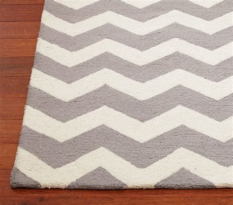 chevron grey rug chevron wool rug contemporary rugs by pottery barn
