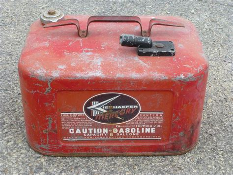 metal boat gas can buy vintage quicksilver metal gas tank can outboard boat