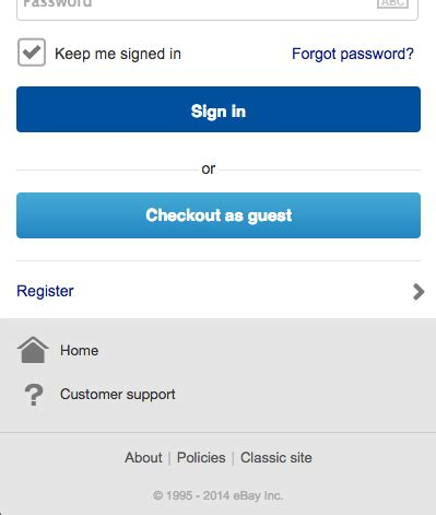ebay guest login 3 case studies creating a mobile checkout flow that makes