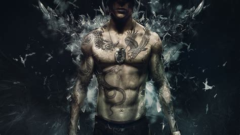 Tattoo Boy Hd Pic | tattoo 3d boy desktop hd wallpaper stylishhdwallpapers