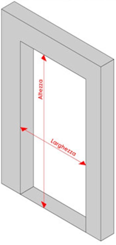 larghezza di una porta come prendere le misure per le porte a soffietto