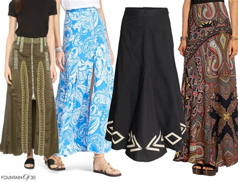 summer transitional trend the fit flare maxi skirt