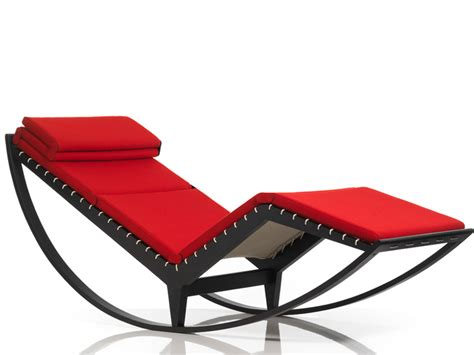 Relaxing Chair Stylish Italian Rocking Chair Canapo By Cassina Digsdigs