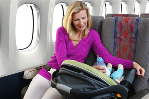 infant booster seat on airplane should you use a car seat when flying with children
