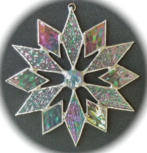 snowflake patterns for stained glass 17 best images about fused glass christmas on pinterest
