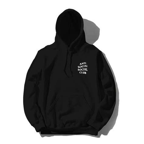 Hoodie Anti Social Social Club 14 anti social social club mind hoodie black white