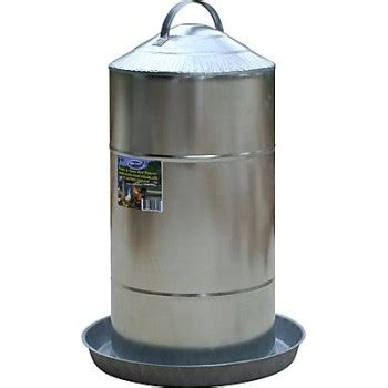 poultry fountain 8 gal galvanized