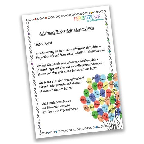 Aufkleber Hochzeit Gästebuch by Fingerabdruck G 228 Stebuch Din A4 Buntes Auto Just Married