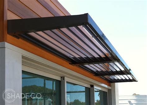 modern door awning louvre awnings modern window treatments sydney by