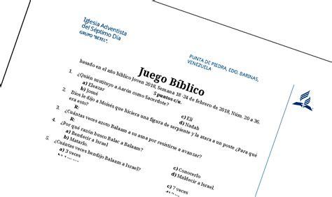 preguntas de la biblia para concurso biblico betel juegos biblicos