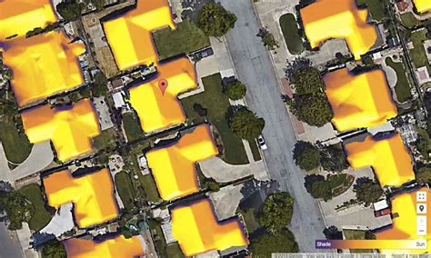 google s project sunroof aims to make it easier for you to google can calculate the solar electricity potential of