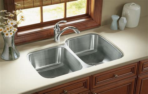 how do you clean a stainless steel kitchen sink the suggested way to clean stainless steel sinks the