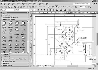 visio electrical engineering shapes chapter 27 diagramming for mechanical electrical and