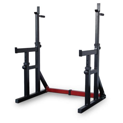 bodyworx l415sr adjustable squat rack dip stand gpi
