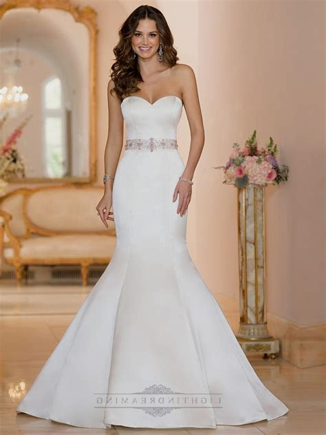 Sweetheart Dresses by Strapless Sweetheart Mermaid Wedding Dresses Naf Dresses