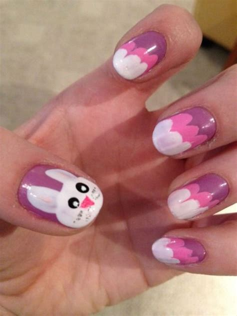 20 simple easy cool easter nail designs ideas