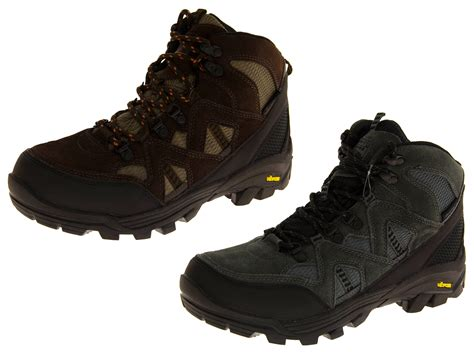 mens walking boots size 9 mens gola vibram leather walking boots sturdy outdoor