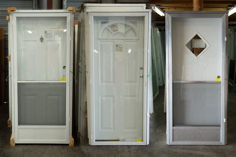 Exterior Doors Mobile Homes Mobilehome Doors Mobile Home Doors Exterior With Clear Glass Retractable Screen And Using Thin