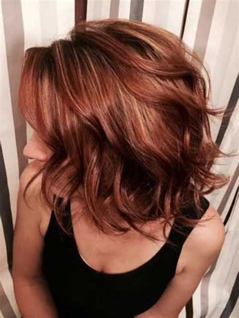 brunette lob hairstyles 2015 25 best ideas about brunette red highlights on pinterest