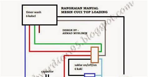 Mesin Cuci Lg Manual bintang service merubah manual mesin cuci otomatis