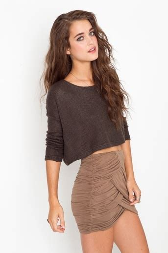crop top high waisted skirt gorgeous clothes and shoes
