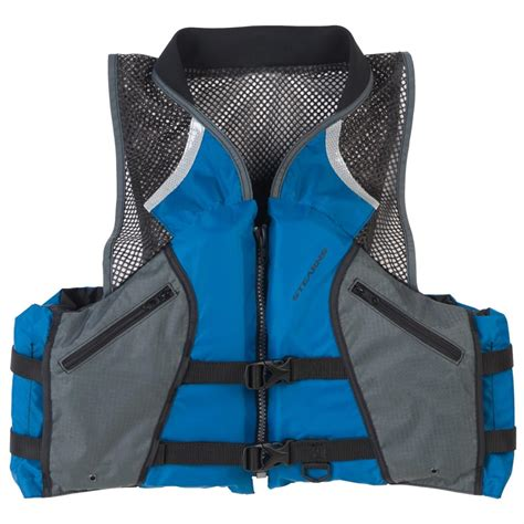 comfortable life stearns 174 comfort series collared angler life vest